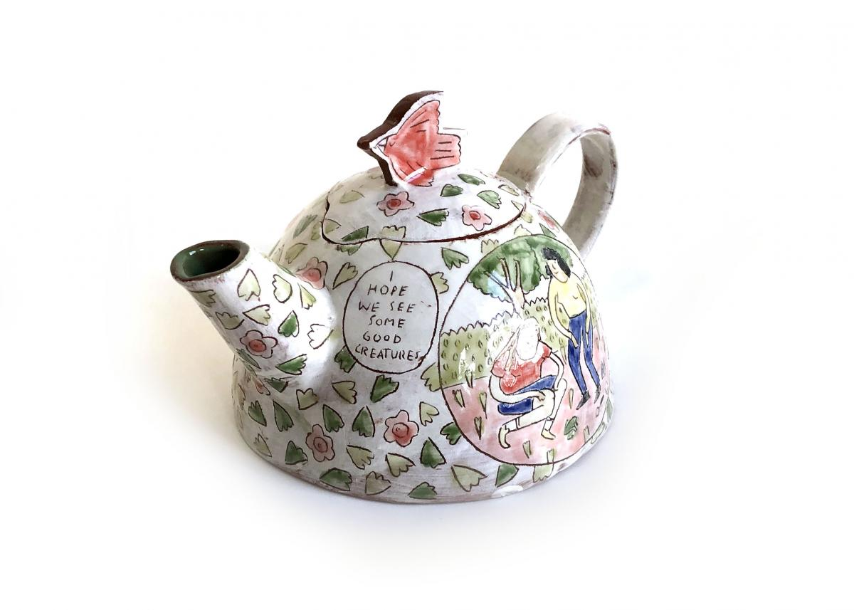 Molly Bishop Teapot