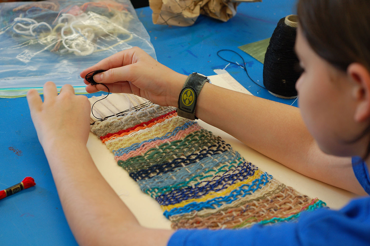 Weaving a Rainbow (Ages 7-9)