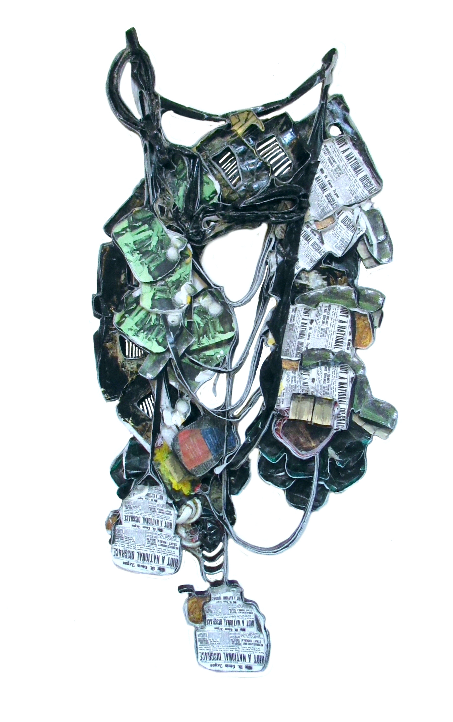 """Wrought-iron fences. Cultivating divides. 