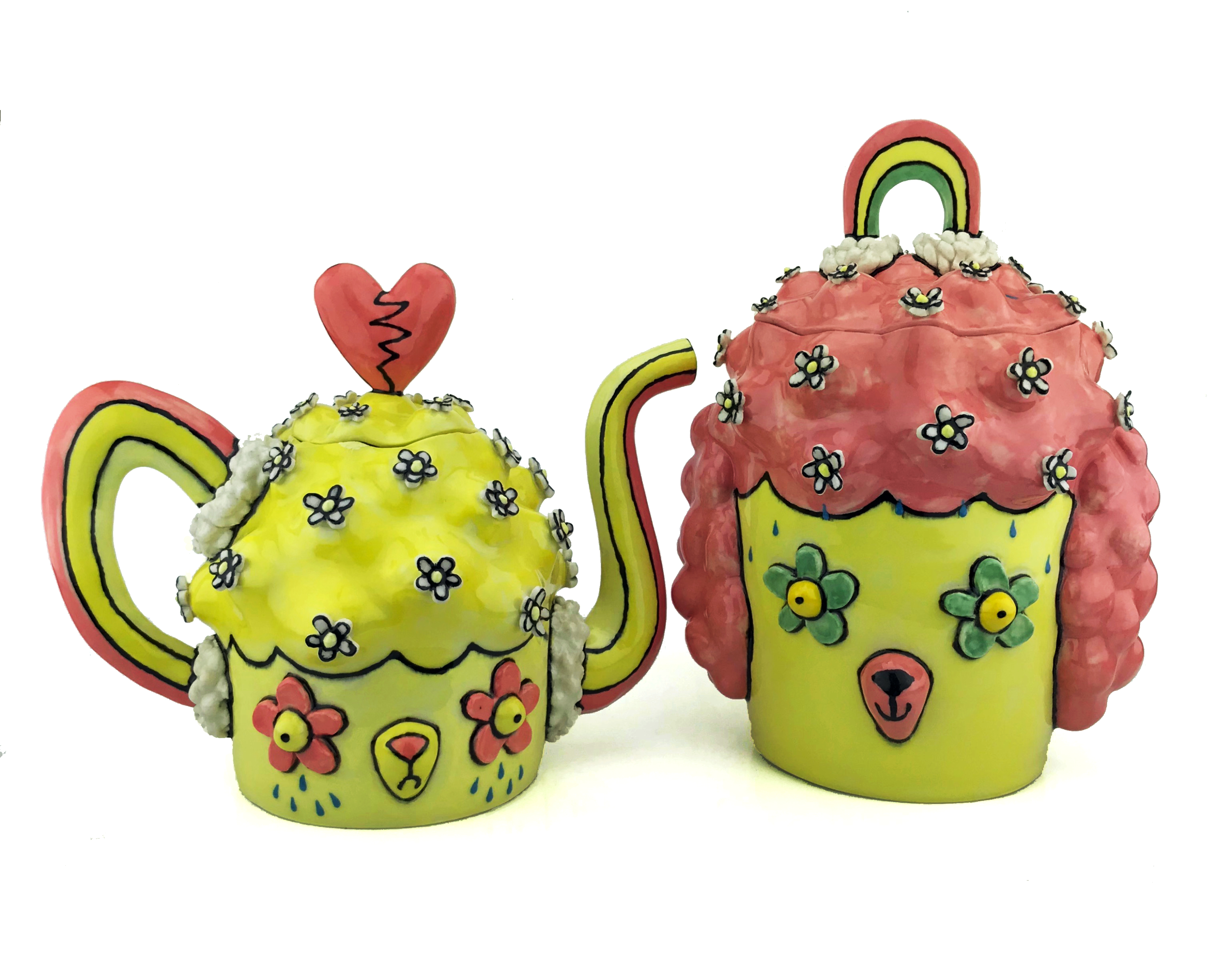 "Ashley Bevington, ""Teapot & Cookie Jar"""