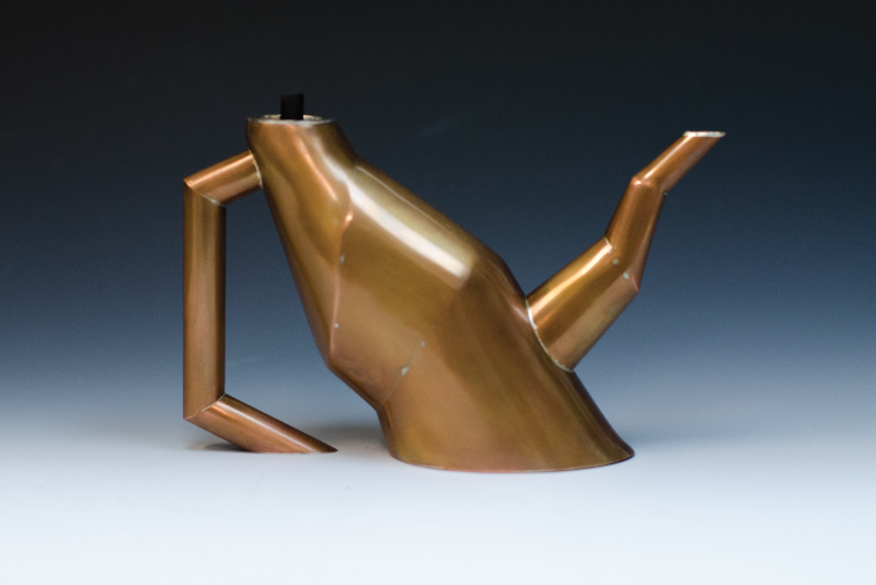 """Corbordant Teapot"" by Reed Fagan"