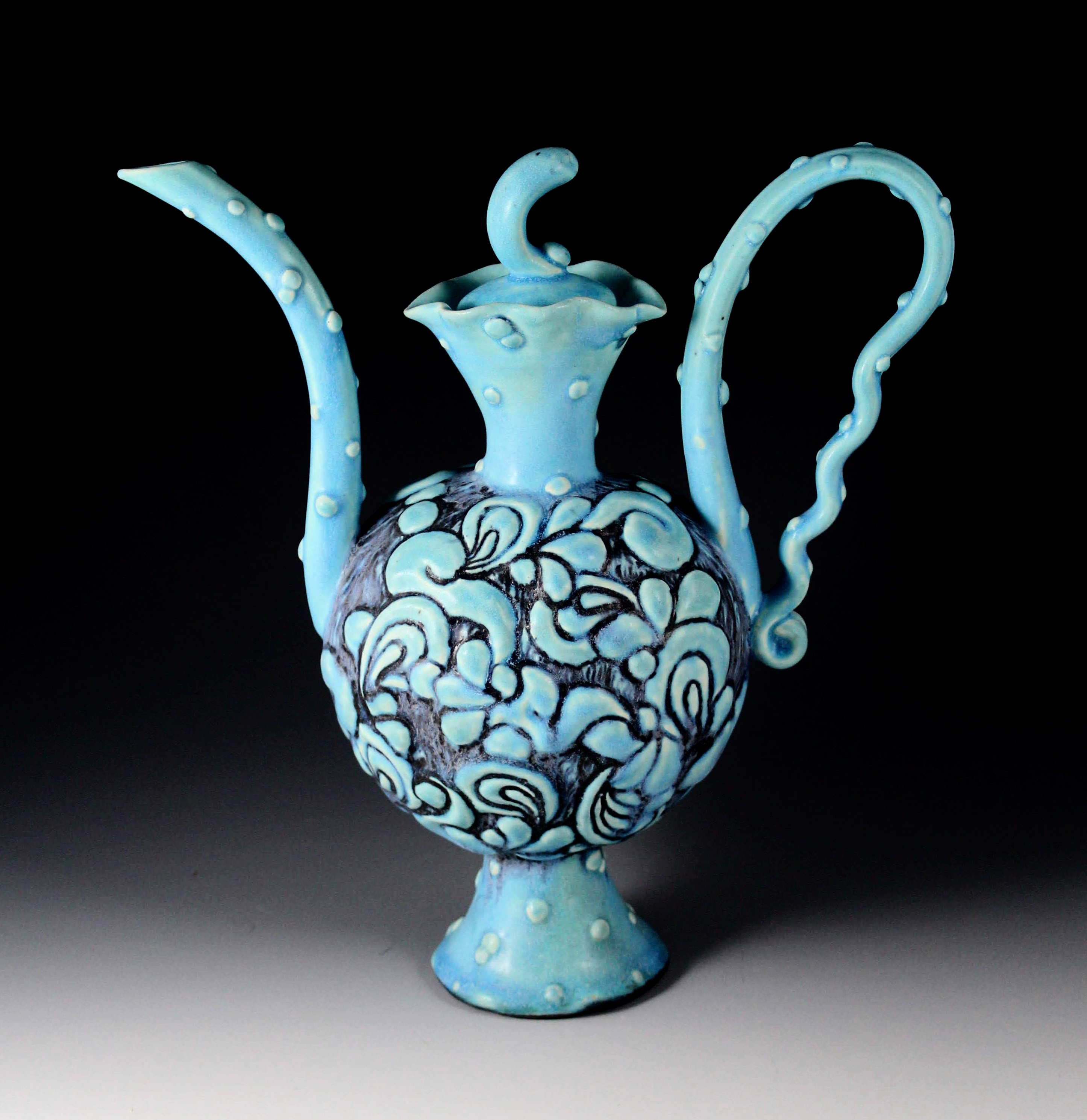 "Joy Jones, ""Blue Teapot"""