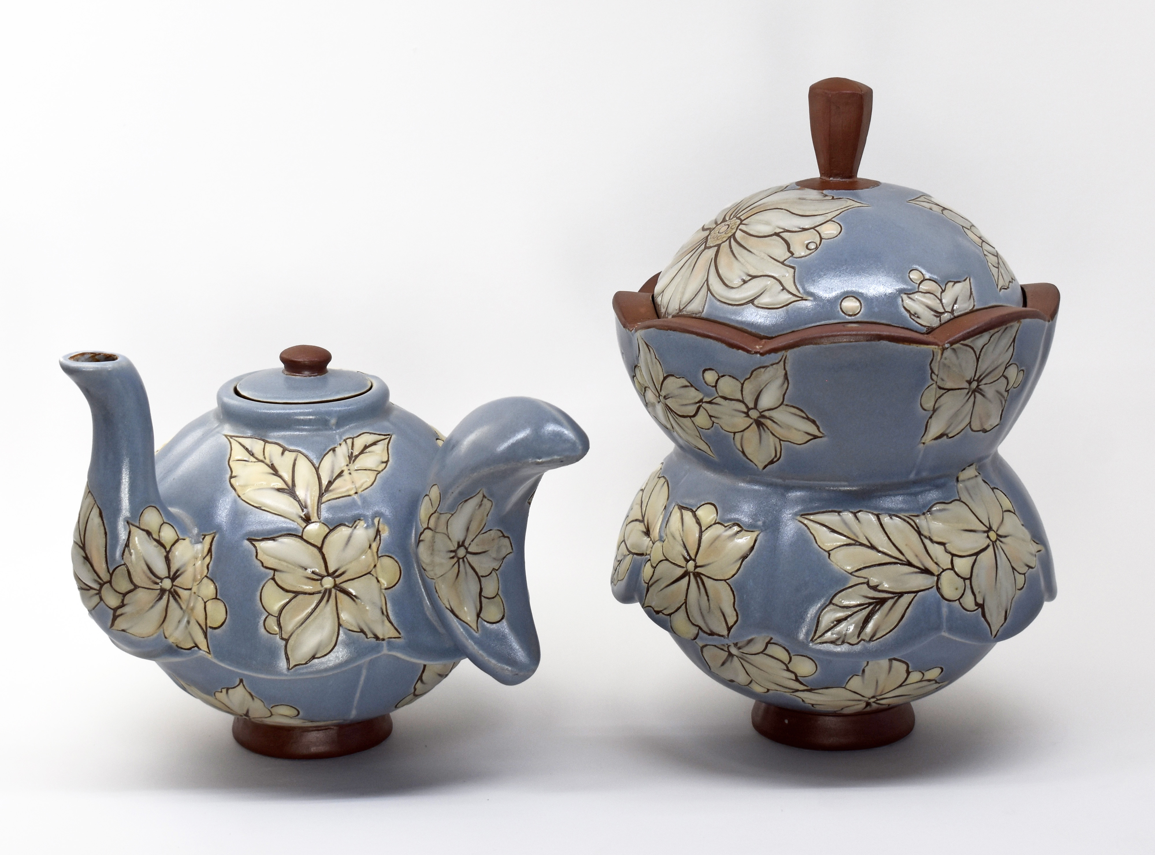 "Ben Jorda, ""Teapot and Cookie Jar"""