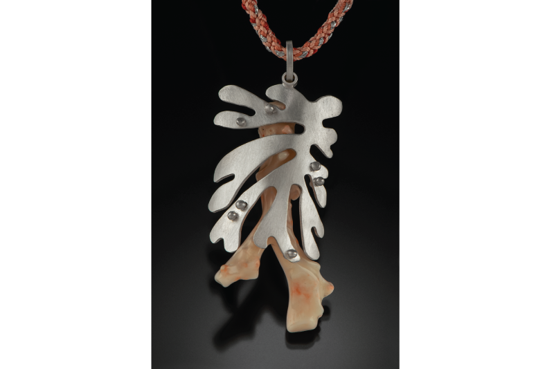 """Coral Cut Out"" By Leigh Roberts, $190"