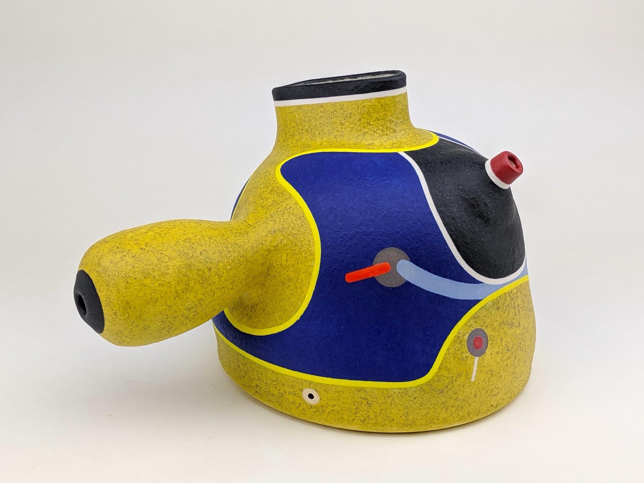 "Jose Sierra, ""Stoneware Teapot"""