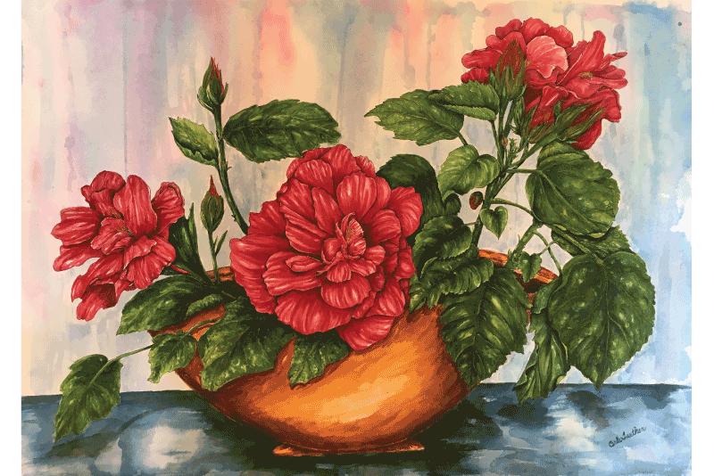 """""""Transplant"""" by Carla Tuetken, $2800"""